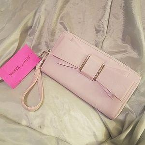 Betsey johnson  bow wallet wristlet NWT